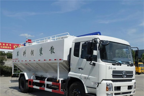 散装饲料车价格_养殖厂用散装饲料车的重要性